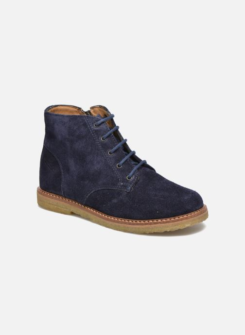Boots en enkellaarsjes Pom d Api Pat Brogue Blauw detail