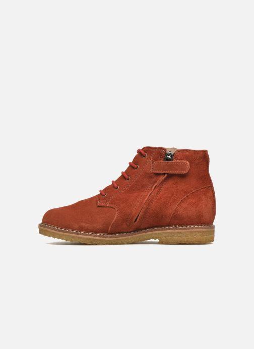 Ankle boots Pom d Api Pat Brogue Orange front view