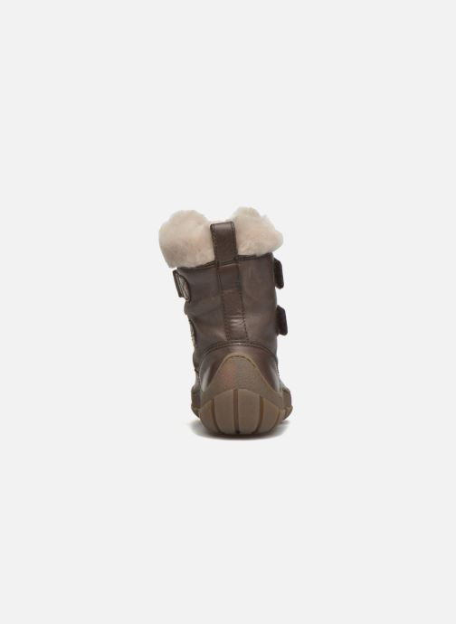 Støvler & gummistøvler Pom d Api Piwi Fur Vel Brun Se fra højre
