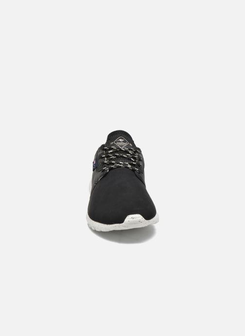 Baskets Roadsign Deluz Noir vue portées chaussures