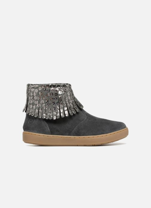 Ankle boots Shoo Pom Play Fringe Grey back view