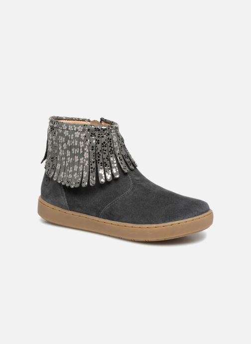 Ankle boots Shoo Pom Play Fringe Grey detailed view/ Pair view