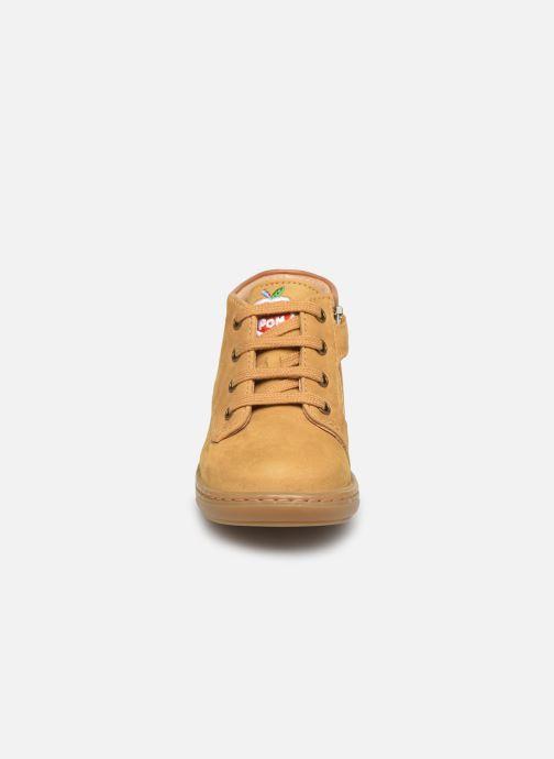 Stiefeletten & Boots Shoo Pom Bouba Zip Desert braun schuhe getragen