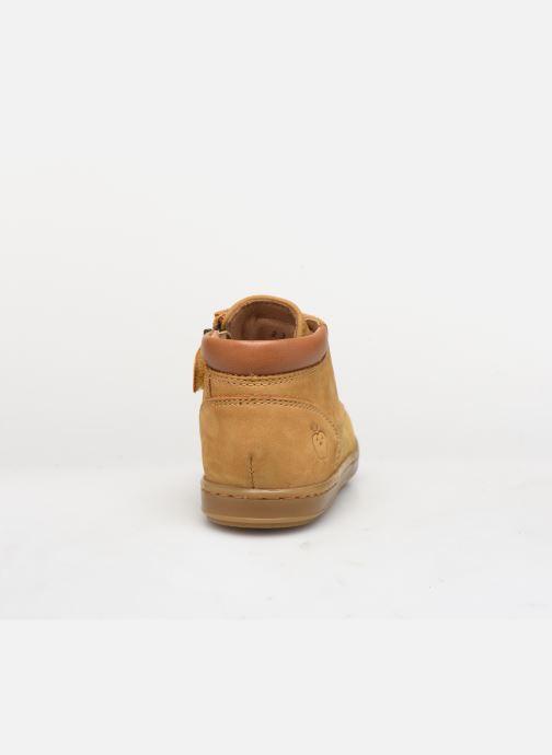 Stiefeletten & Boots Shoo Pom Bouba Zip Desert braun ansicht von rechts