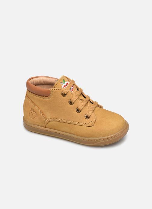 Stiefeletten & Boots Shoo Pom Bouba Zip Desert braun detaillierte ansicht/modell