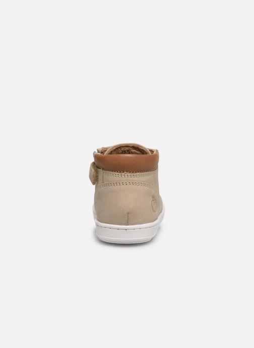 Bottines et boots Shoo Pom Bouba Zip Desert Beige vue droite