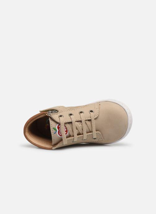 Bottines et boots Shoo Pom Bouba Zip Desert Beige vue gauche