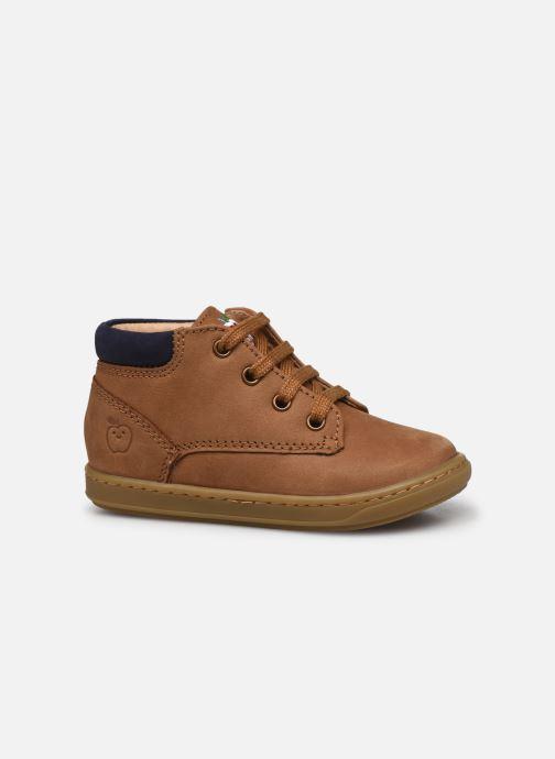 Bottines et boots Shoo Pom Bouba Zip Desert Marron vue derrière