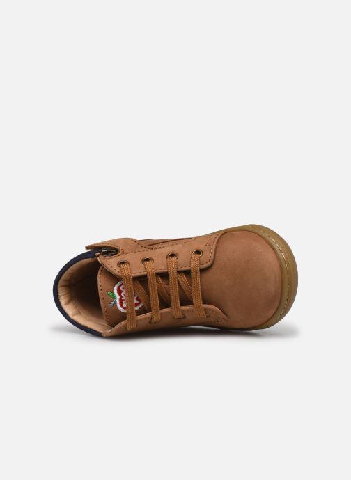 Bottines et boots Shoo Pom Bouba Zip Desert Marron vue gauche