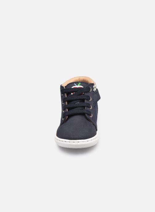 Stiefeletten & Boots Shoo Pom Bouba Zip Desert blau schuhe getragen