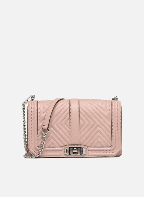 Sacs à main Rebecca Minkoff Geo quilted Love Crossbody Rose vue détail/paire
