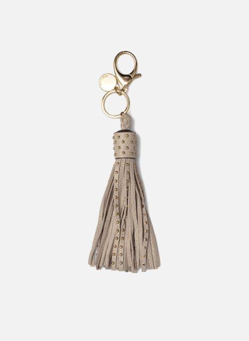 Sonstiges Rebecca Minkoff Pin Stud Tassel Keychain beige ansicht von hinten