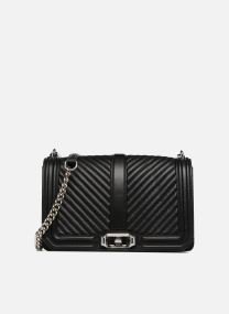 Borse Borse Chevron Quilted Love Crossbody