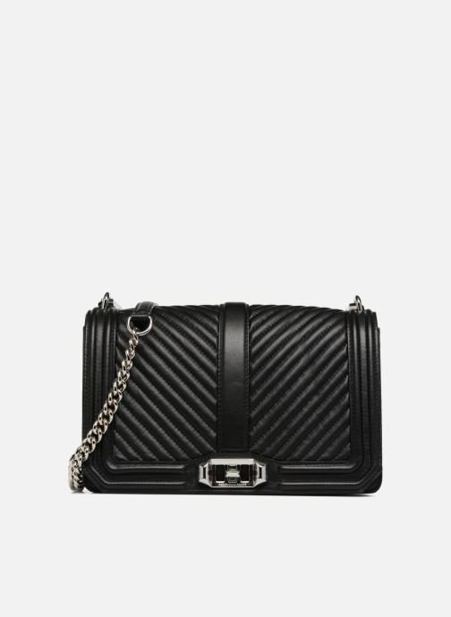 Love Crossbody Rebecca Minkoff Chevron Quilted Black f7b6gy