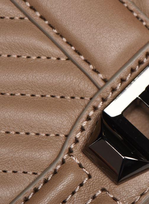 Handtaschen Rebecca Minkoff Chevron Quilted Love Crossbody beige ansicht von links