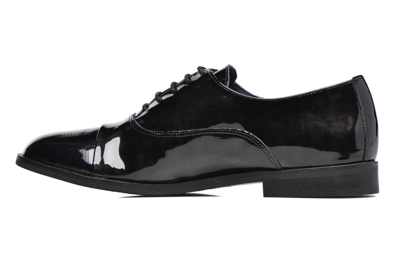 Chaussures à lacets Dorking Raquel 6891 Noir vue face