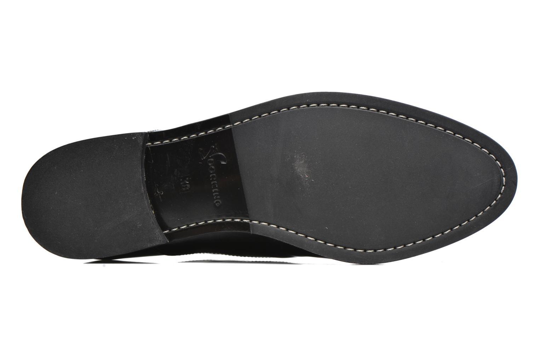 Chaussures à lacets Dorking Raquel 6891 Noir vue haut