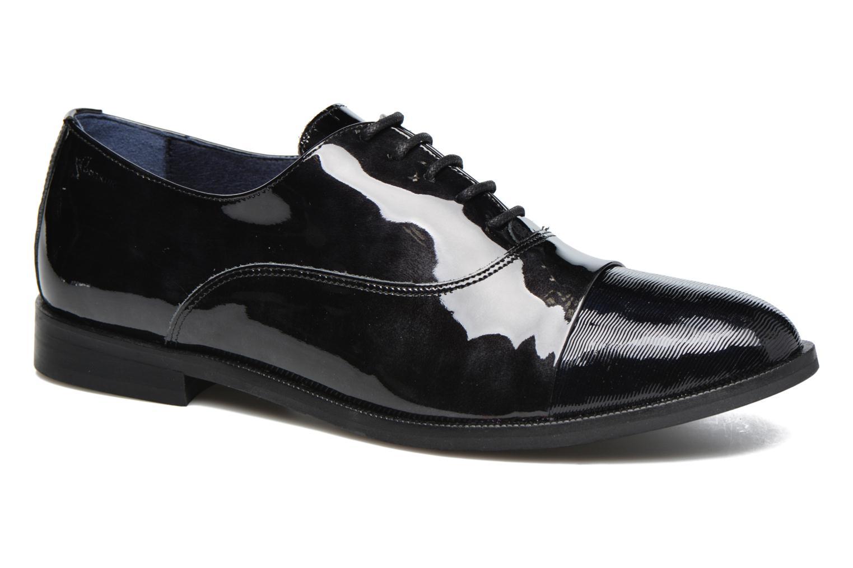 Chaussures à lacets Dorking Raquel 6891 Noir vue détail/paire