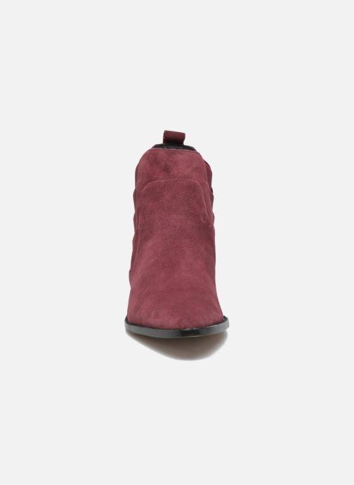 en Minkoff enkellaarsjes Bordeaux Rebecca model JACY Boots 7tdBq5wd