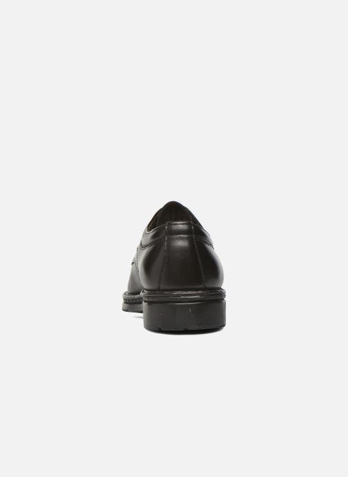 Chaussures à lacets Fluchos Galaxi 3120 Noir vue droite