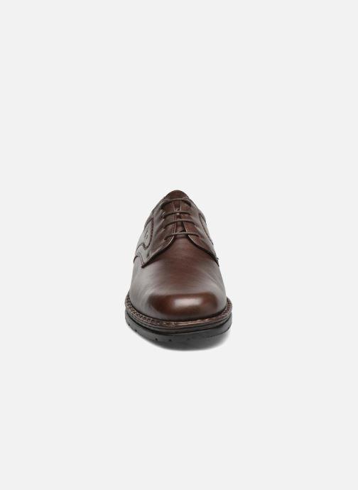 Chaussures à lacets Fluchos Galaxi 3120 Marron vue portées chaussures