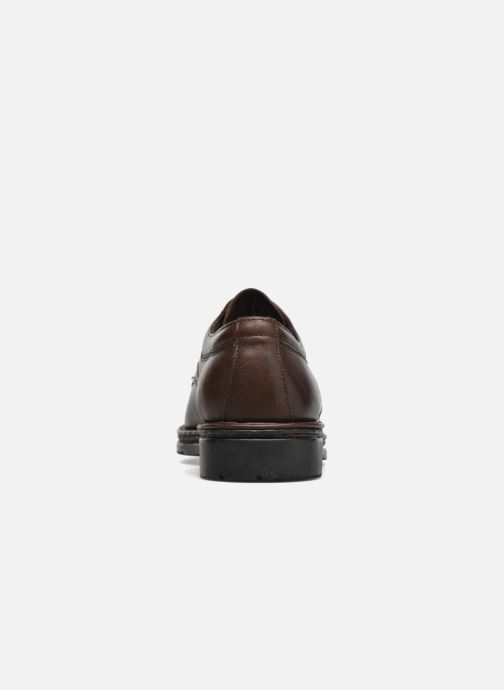 Chaussures à lacets Fluchos Galaxi 3120 Marron vue droite