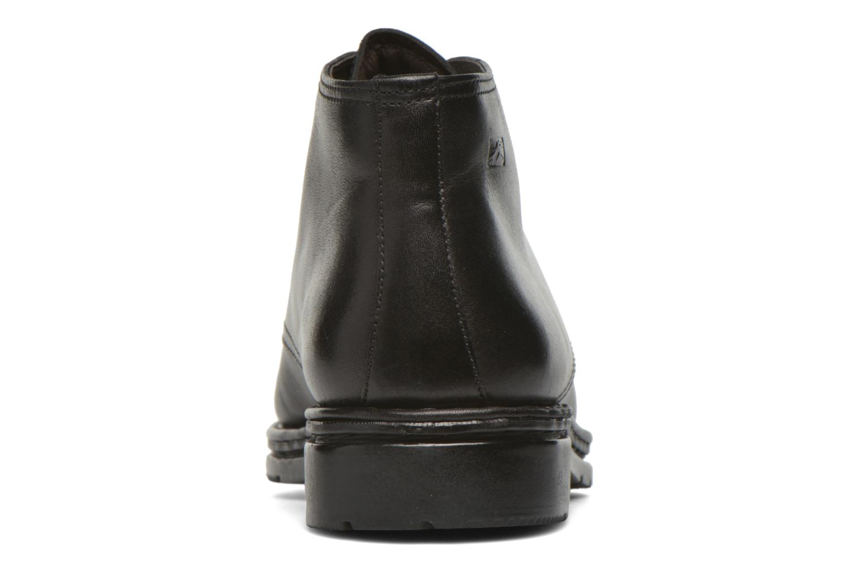 Chaussures à lacets Fluchos Galaxi 3130 Noir vue droite