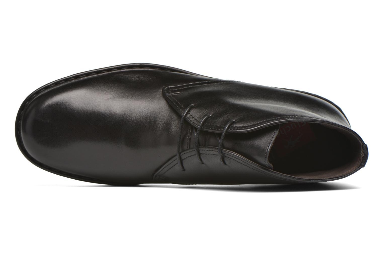 Chaussures à lacets Fluchos Galaxi 3130 Noir vue gauche
