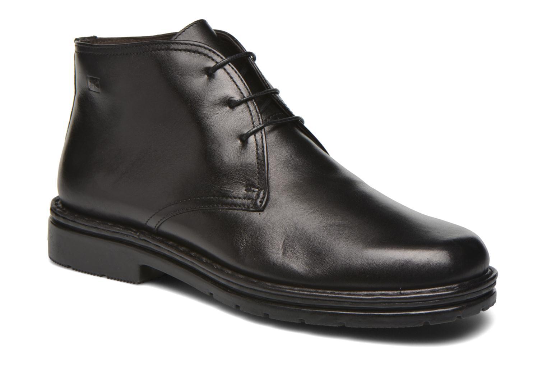 Chaussures à lacets Fluchos Galaxi 3130 Noir vue détail/paire