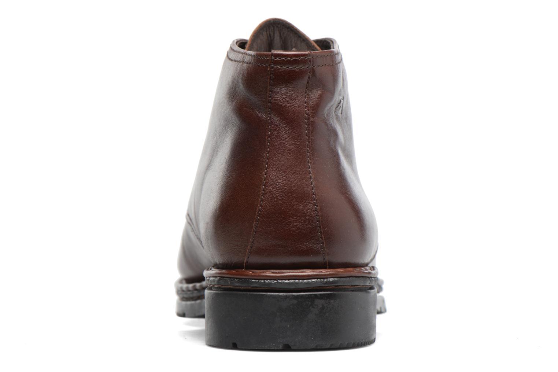 Chaussures à lacets Fluchos Galaxi 3130 Marron vue droite