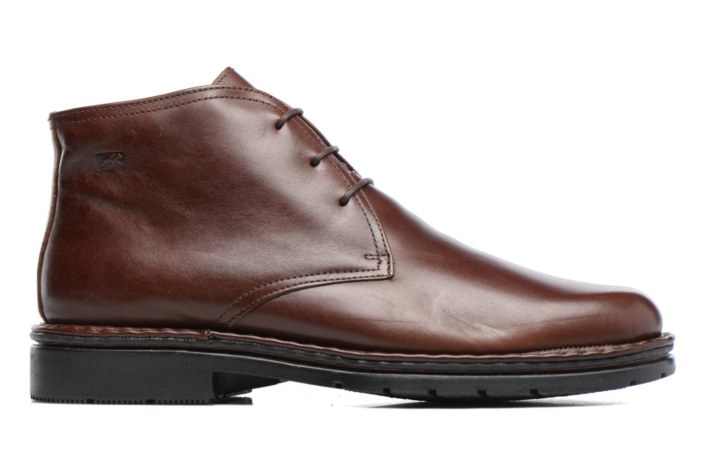 Chaussures à lacets Fluchos Galaxi 3130 Marron vue derrière