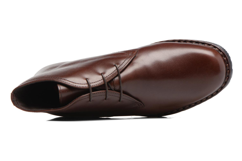 Chaussures à lacets Fluchos Galaxi 3130 Marron vue gauche