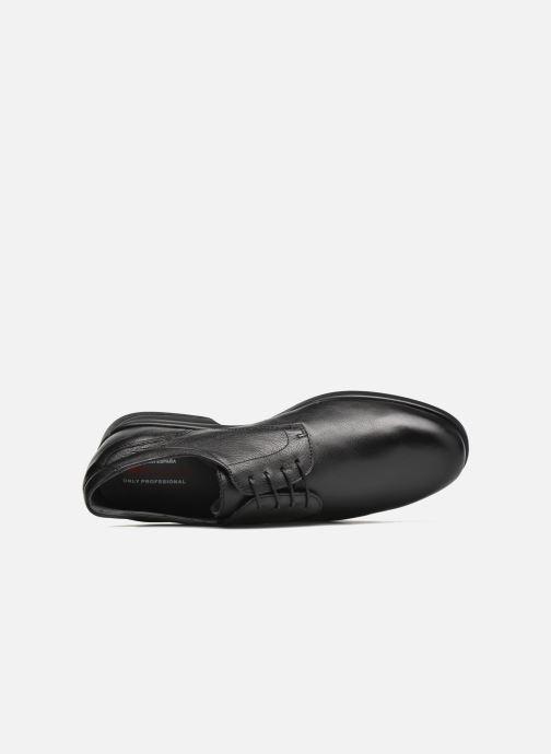 Chaussures à lacets Fluchos Maitre 8904 Noir vue gauche