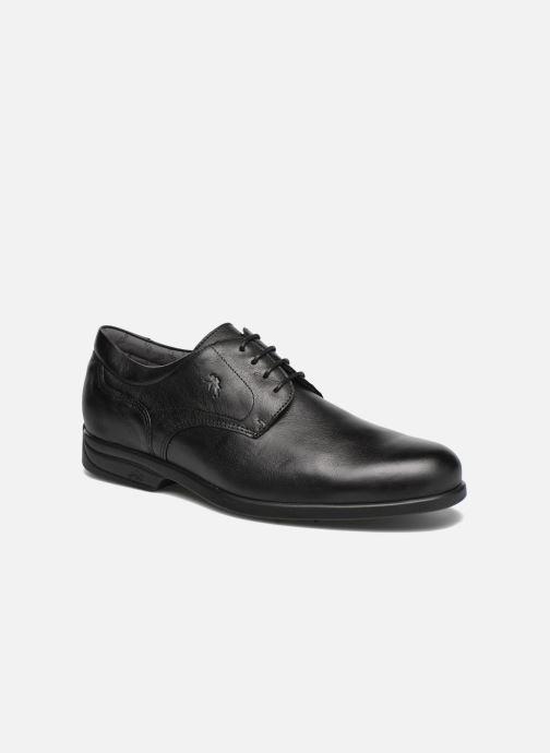 Chaussures à lacets Fluchos Maitre 8904 Noir vue détail/paire