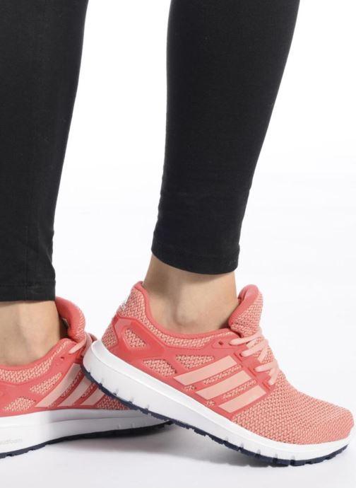 Chaussures de sport adidas performance energy cloud wtc w Noir vue bas / vue portée sac