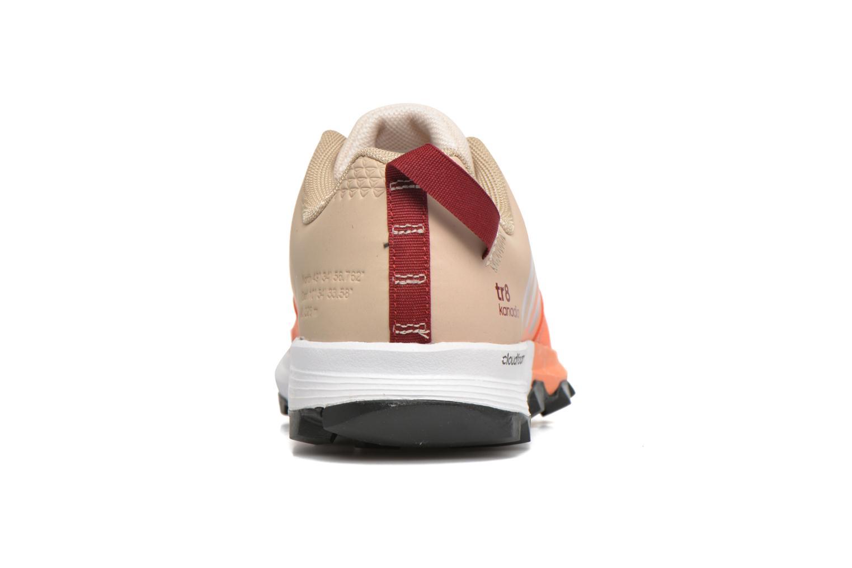 Chaussures de sport Adidas Performance kanadia 8 tr w Beige vue droite