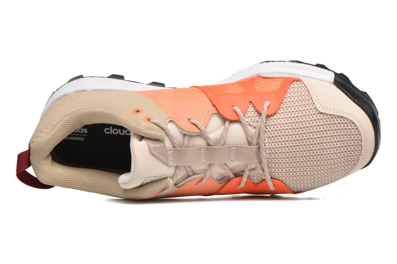 Chaussures de sport Adidas Performance kanadia 8 tr w Beige vue gauche