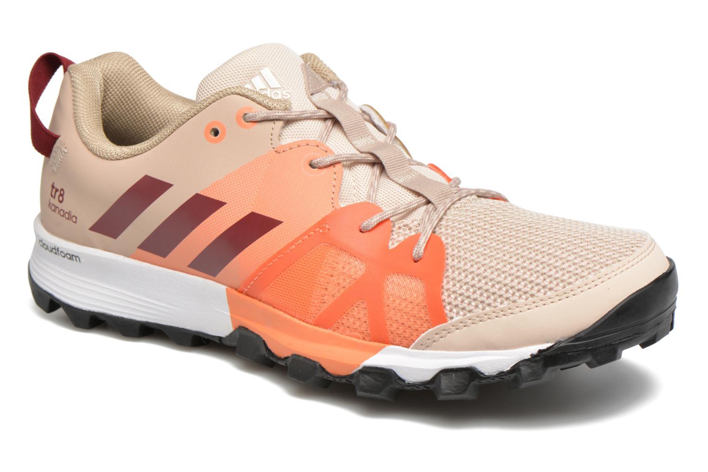 Chaussures de sport Adidas Performance kanadia 8 tr w Beige vue détail/paire