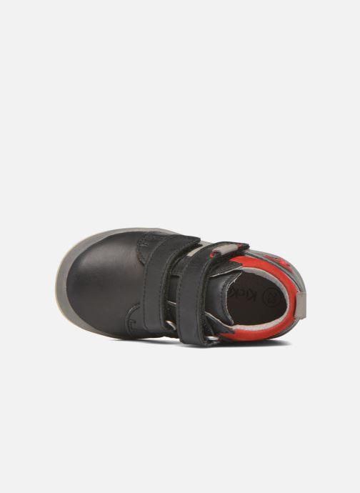 Sneakers Kickers Gowaou Azzurro immagine sinistra