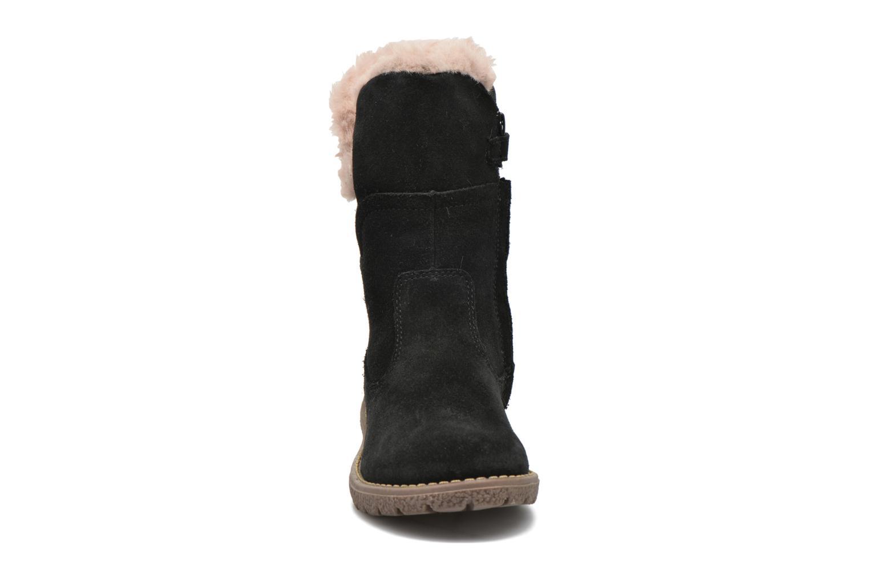 Bottes Kickers Uza Noir vue portées chaussures