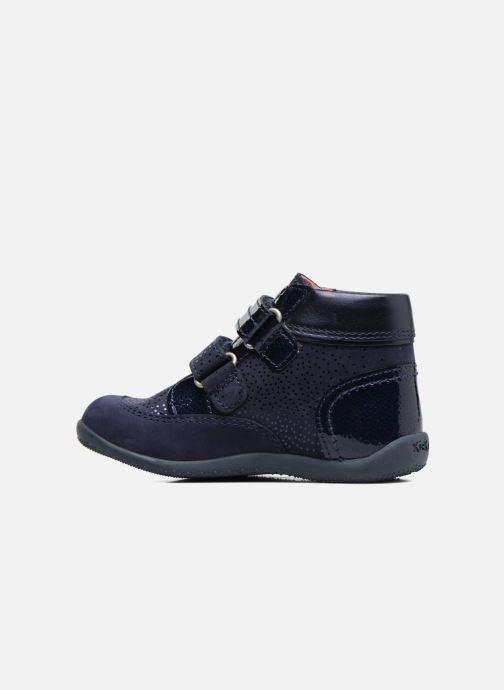 Bottines et boots Kickers Biliana Bleu vue face
