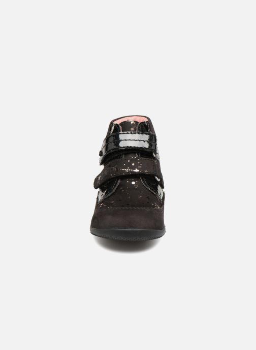 Bottines et boots Kickers Biliana Noir vue portées chaussures
