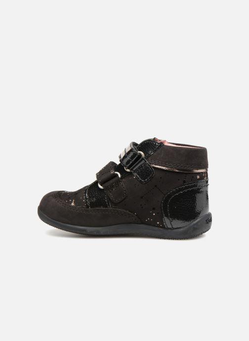 Boots en enkellaarsjes Kickers Biliana Zwart voorkant
