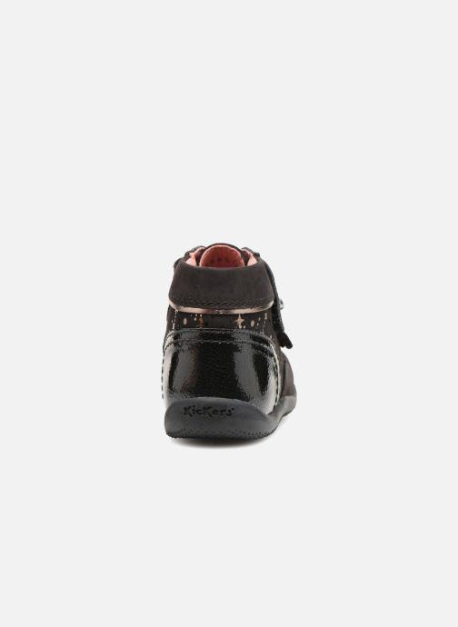 Bottines et boots Kickers Biliana Noir vue droite