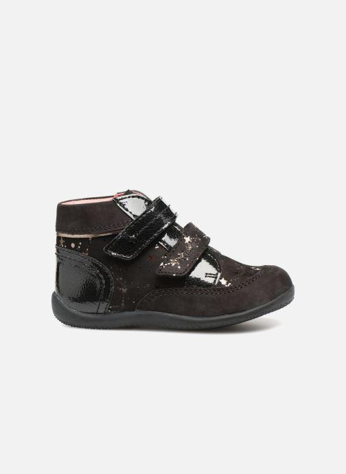 Bottines et boots Kickers Biliana Noir vue derrière
