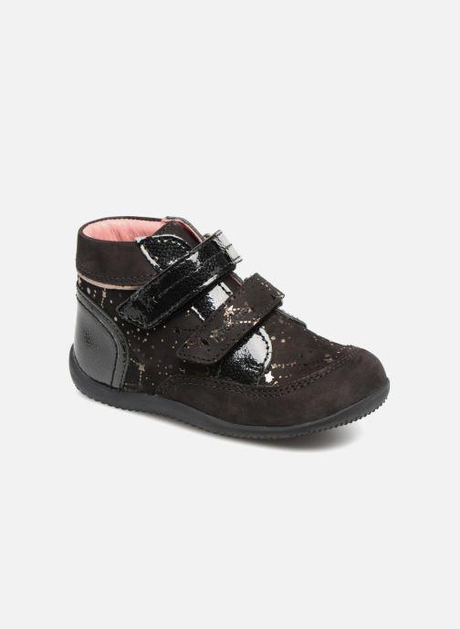 Bottines et boots Kickers Biliana Noir vue détail/paire