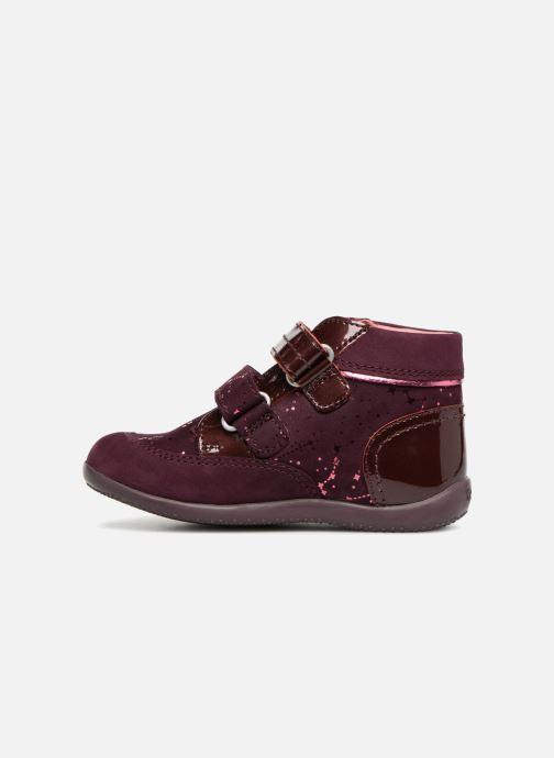 Boots en enkellaarsjes Kickers Biliana Bordeaux voorkant