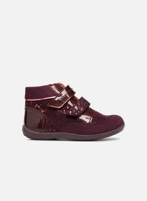 Bottines et boots Kickers Biliana Bordeaux vue derrière