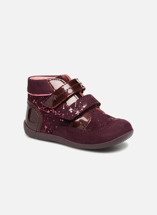 Boots en enkellaarsjes Kickers Biliana Bordeaux detail