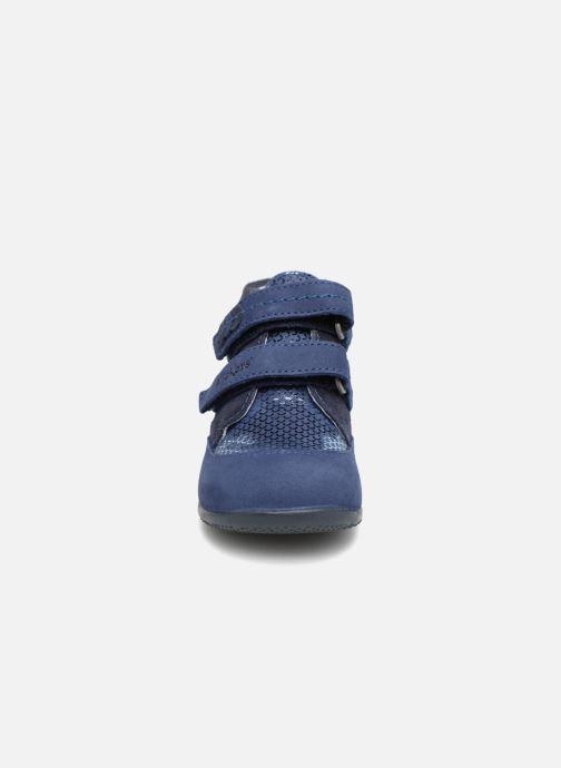 Bottines et boots Kickers Biliana Bleu vue portées chaussures